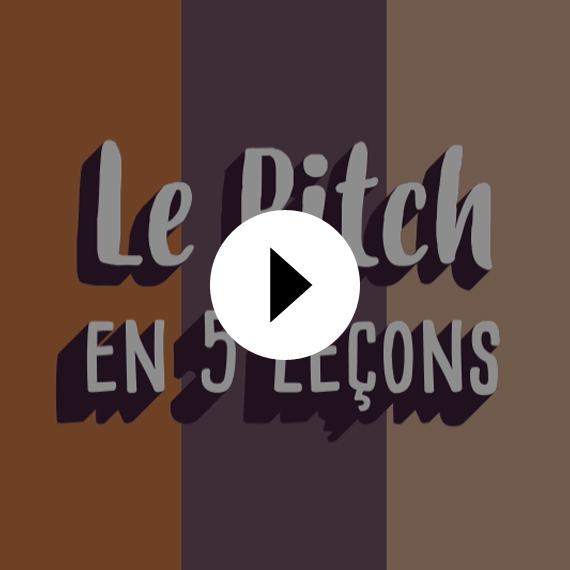 MOTION DESIGN Le Pitch en 5 leçons