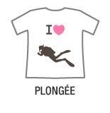 I love plongée