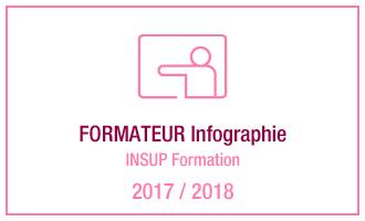 Vincent Leclerc, formateur Infographie, INSUP Formation, 2017 - 2018
