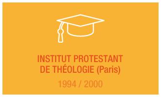 Formation Vincent Leclerc : Institut protestant de Théologie (Paris), 1994 - 2000