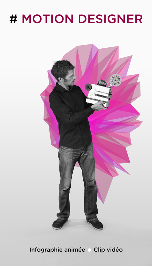 Vincent Leclerc, motion Designer : infographie animée, clip vidéo